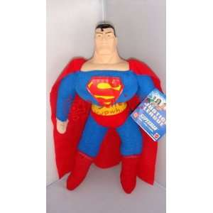 movie hero superman 16 with vinyl head soft plush stuffed toy