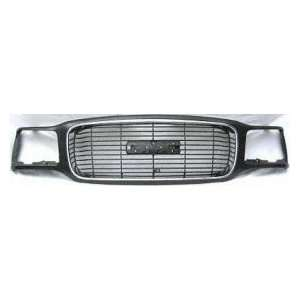 CV07120GA GMC Yukon Denali Chrome/Black Replacement Grille Automotive