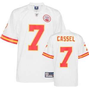 Matt Cassel Kansas City Chiefs White Premier NFL Jersey