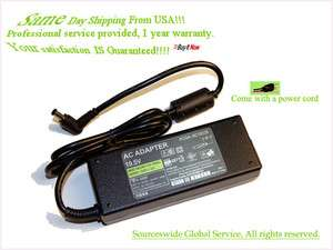 AC ADAPTER FOR SONY VAIO PCG 91211M LAPTOP PC BATTERY CHARGER POWER
