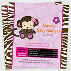 Hello Kitty Baby Shower Invitations Favor Tags Candy Water Wrapper