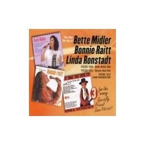The Hits of Bette Midler, Bonnie Raitt & Linda Ronstadt