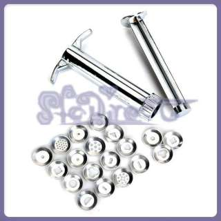 shape Stainless Steel Polymer Clay Wax Carver Gun Extrusion Discs tool