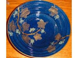 Carlton Ware Bleu Royale Grape Vine Bowl