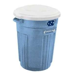 Carolina Tar Heels UNC NCAA 32 Gallon Trash Can