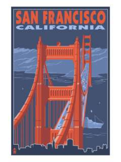 San Francisco, California   Golden Gate Bridge Prints at AllPosters