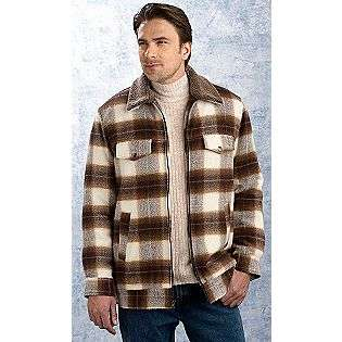 Mens Plaid Wool Jacket  Excelled Clothing Mens Outerwear