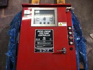 Firetrol Diesel Engine Fire Pump Controller, FTA1100 DL24N, 300 psi