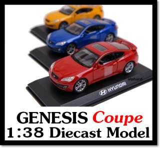 HYUNDAI BrandCollection] Genesis Coupe Diecast Model