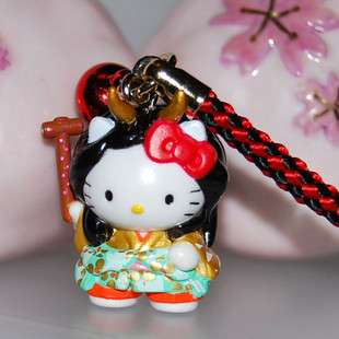 Brand New Lovely Cell Phone Strap Charm   Hello Kitty hk361