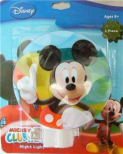 MICKEY MOUSE DISNEY NITE NIGHT LIGHT LITE GIRLS BOYS GREAT BABY SHOWER
