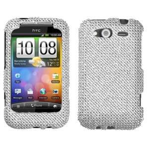 Crystal Diamond BLING Hard Case Snap on Phone Cover for HTC Wildfire S