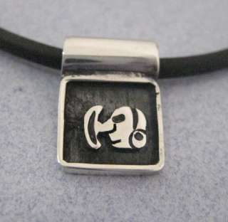 MAYAN ALPHABET Initial Letter A Z Silver Pendant Taxco