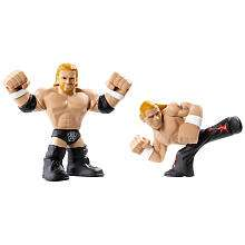 WWE Rumblers Action Figures 2 Pack   Triple H and Shawn Michaels