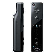 Wii Remote Plus for Nintendo Wii   Black   Nintendo