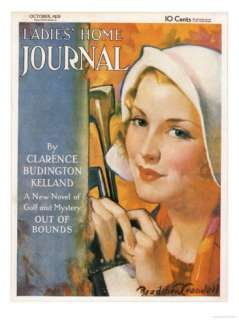 Ladies Home Journal, Golf Magazine, USA, 1930 Posters at AllPosters