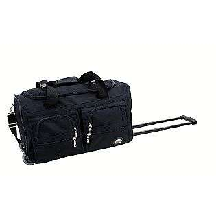 22 BLACK ROLLING DUFFLE BAG  Rockland Fox Luggage For the Home