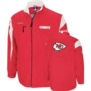 Kansas City Chiefs  Red  2008 Lightweight Coaches Jacket