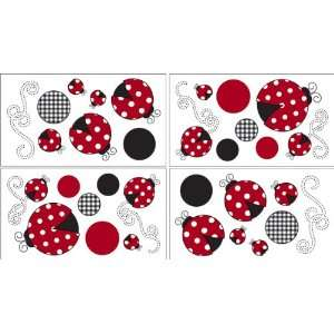 Red and White Polka Dot Little Ladybug Baby and Childrens