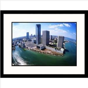 Biscayne Bay Meets Miami River Framed Photograph   Scott Smith Size