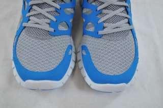 NIKE FREE RUN + 2 STEALTH GREY PURE PLATINUM BLUE 443815 044