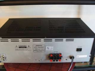 Stereo Power Amplifier Amp 2 Channel Home Audio 8+ OHMS EUC