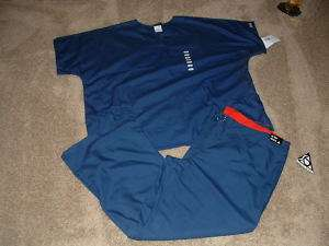 NWT Nursing uniform TOP/PANTS XL/2XL CHEROKEE NAVY NEW