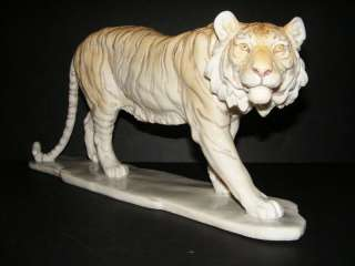 Tiger Wild Cat Statue Figurine 18 NEW