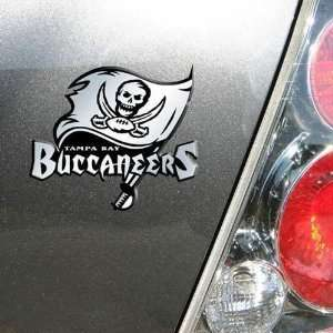 Tampa Bay Bucs Buccaneers Chrome Car/Auto Team Logo Emblem