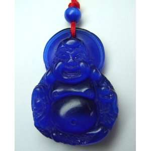 Fashion Jewelry ~ Blue Moonstone Buddha Pendant Sports