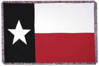 TEXAS State FLAG Large TAPESTRY THROW BLANKET NEW