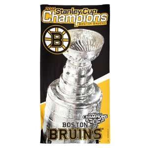 NHL 2011 Stanley Cup Champions Beach Towel Sports