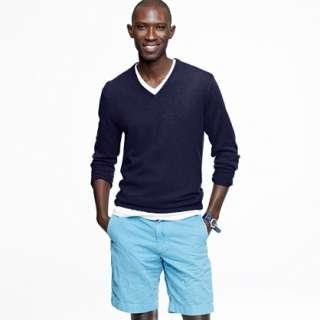 Slim cashmere V neck sweater   slim   Mens Men_Special_Sizes   J.Crew