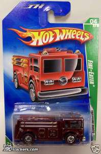 2009 Super Treasure Hot Wheels Fire Eater Red Line