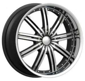 22 Phino PW118 Phantom DUB Wheel SET Chrome RIMS RANGE ROVER CAMARO