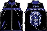 ZETA PHI BETA JACKET/VEST REVERSIBLE EMBROIDERED