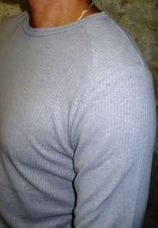 Urban Behavior LONG SLEEVE Mens T shirt GRAY Tee