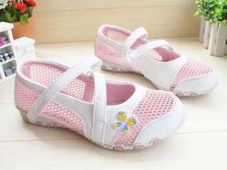 New Kids/Girls Barbie Sandals Pink & Purple Size 26 37
