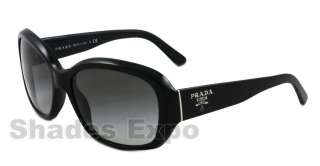 NEW Prada Sunglasses SPR 31N BLACK 1AB 3M1 SPR31N AUTH