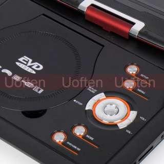 Hot 12 169 Portable Car Remote Control TV DVD Player