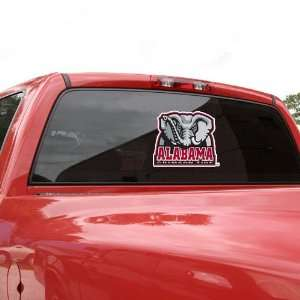 Alabama Crimson Tide Team Mascot Window Decal