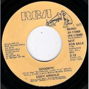 Goodbye (Mono) / Goodbye (Stereo) 7 Inch Vinyl Eddy