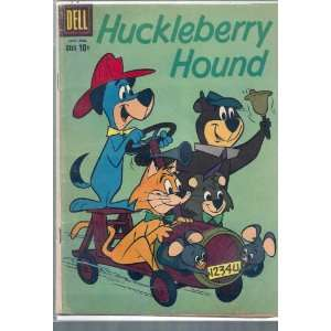 HUCKLEBERRY HOUND # 6, 3.0 GD/VG Dell Books