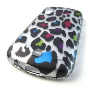 LEOPARD SKIN HARD CASE COVER SAMSUNG STRATOSPHERE PHONE ACCESSORY
