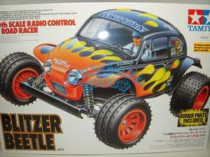 58502 110 RC Blitzer Beetle 2011 w/ESC + Bonus Parts New Release