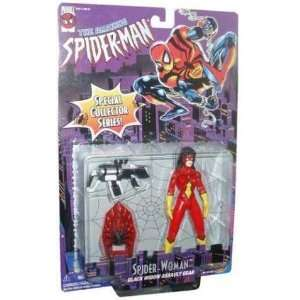 Spider Man Spider Woman Black Widow Action Figure Toys & Games