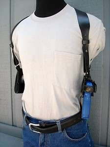 LEATHER SHOULDER HOLSTER 4 SPRINGFIELD SUBCOMPACT XD 3