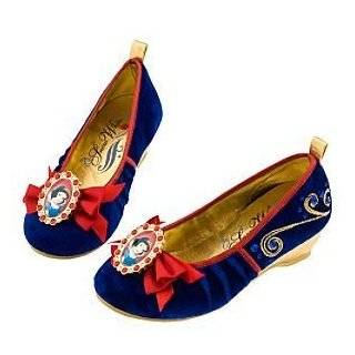 Snow White Shoes Disney Princess Halloween Costume Blue Gold Red Girls
