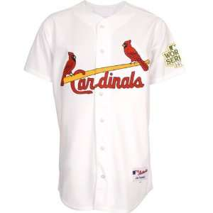St. Louis Cardinals Jersey Home White Authentic Jersey