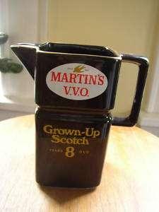 Martins V.V.O. Scotch Pitcher, Wade, England